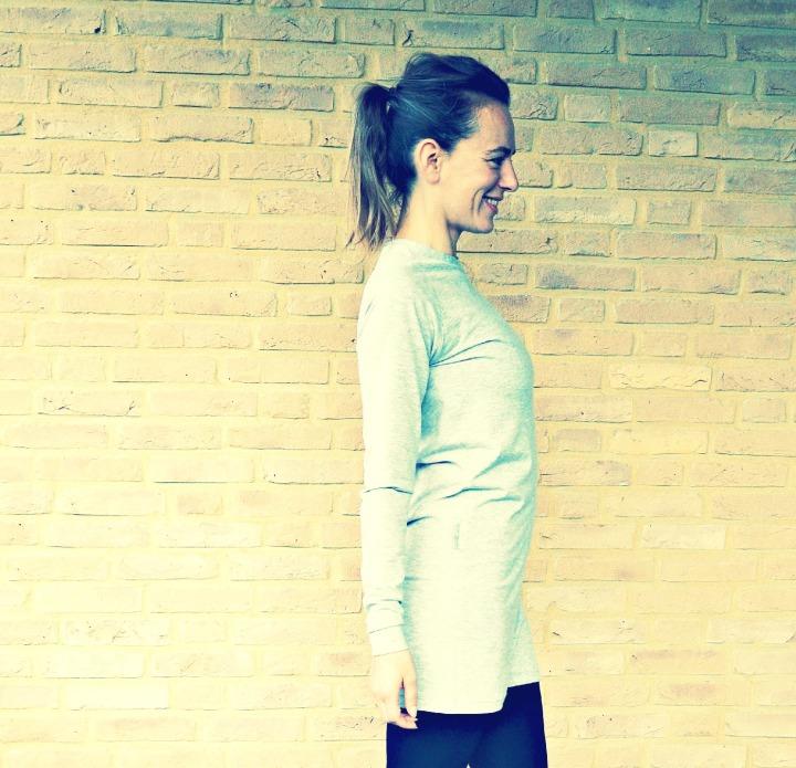 zelf een jurkje maken/ jurkje van tricot / jurkje met raglan mouwen / handgemaakt jurkje / t shirt jurkje / www.geensteekjelos.wordpress.com