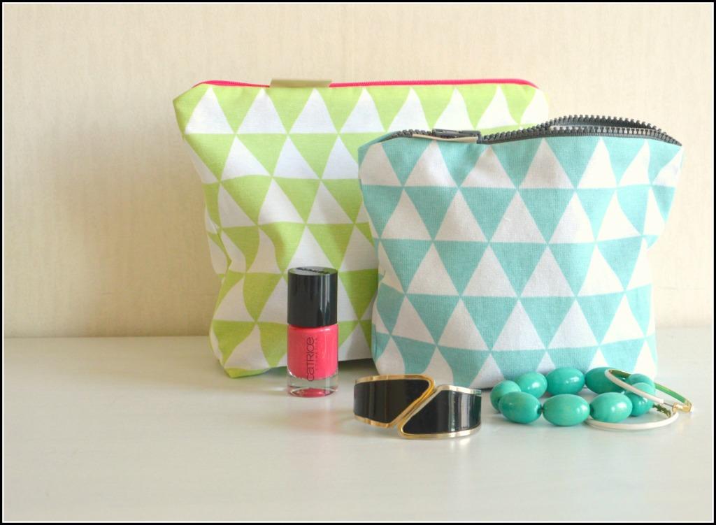 zelf een toilettasje maken / handgemaakt tasje / www.geensteekjelos.wordpress.com