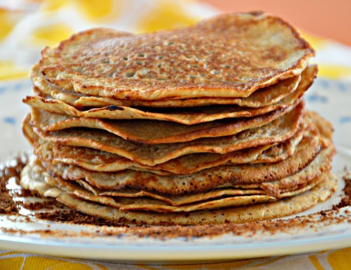pannenkoeken van havermout / pannekoeken van havermout / gezonde pannekoeken / gezonde pannenkoeken / www.geensteekjelos.wordpress.com