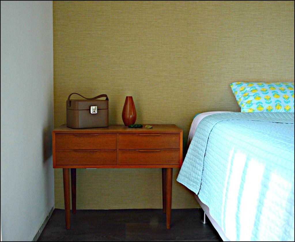 jaren '60 kastje Deens design / mid century modern small cabinet / MCM design / vintage ladenkastje / retro kastje slaapkamer / www.geensteekjelos.wordpress.com
