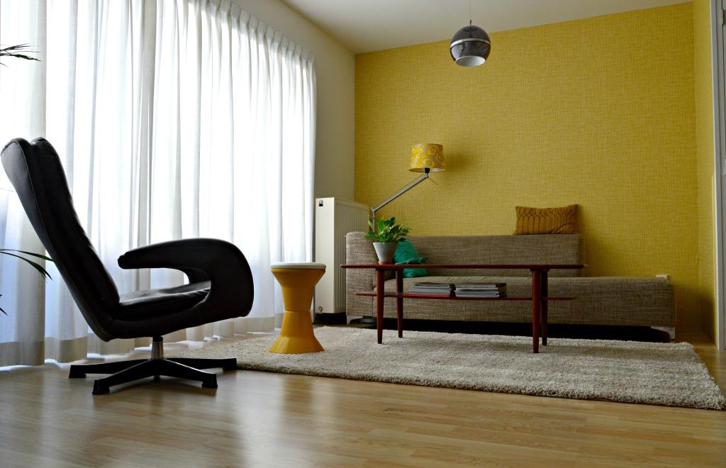retro woonkamer / seventies woonkamer / retro living room / design living room / jaren 70 interieur / www.geensteekjelos.wordpress.com