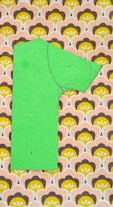 patroon voor poppenjurkje / retro poppenjurkje / vintage poppenjurkje / retro popje / jurkje voor pop maken / zelf een poppenjurkje maken / www.geensteekjelos.wordpress.com