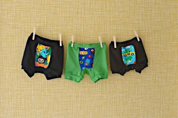boxers drie op een rij